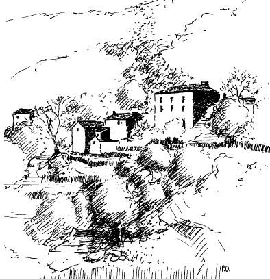 Gîtes en Cévennes - Molezon - Sentier de la Roqueltte